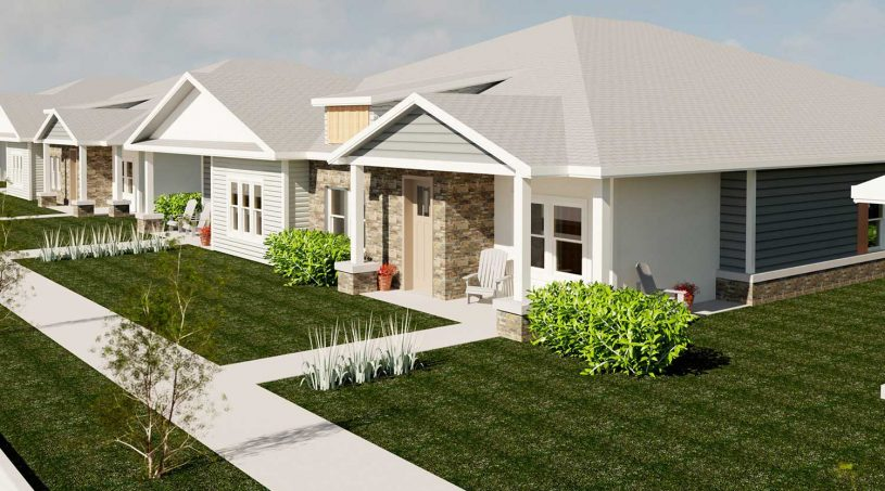 Pittsburg, Kansas Creekside Villas - The Dogwood Exterior Image Rendering